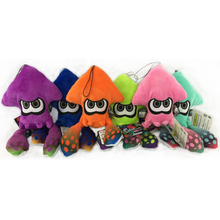 6Styles Colours 25cm Splatoon Squid Octopus Plush Sea Animal Soft Toys Stuffed Animals Cute Dolls Children Gift