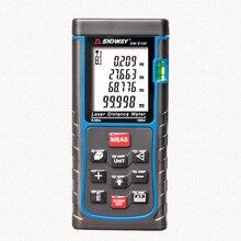 Cheap price SNDWAY Laser Meter Distance Meter 40M 60M 100M Laser Meter Laser Rangefinder Roulette With Retail Box
