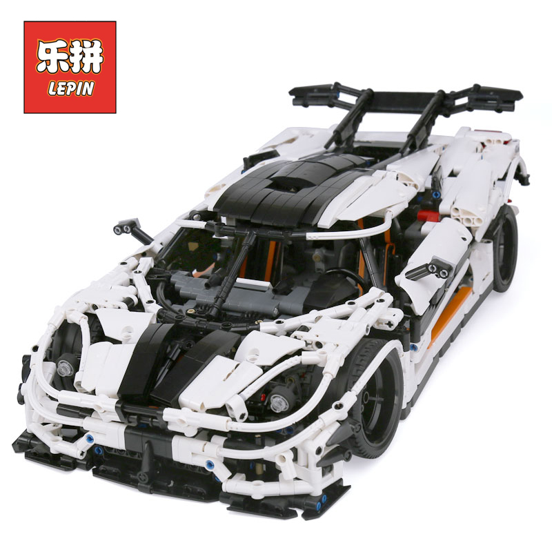 Lepin 23002 Technic Series the MOC-4789 Changing Racing Car Set Legoinglys Children Educational Building Blocks Bricks Toys цена
