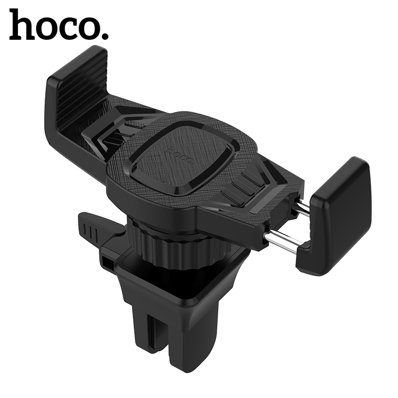 HOCO Car Phone Holder Air Vent Monut Holder Stand Universal 360 Degree Adjustable in Car Holder For iPhone X Samsung S9 Xiaomi