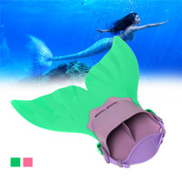 Water Sports Monofin Training Shoes Monofin Mermaid Flippers Diving Swimming Fins Scuba Swim Fin Foot Flippers