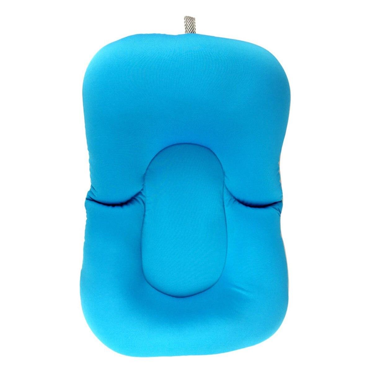 2 Colors Elastic Fabric Baby Bath Tub Air Cushion Lounger Pillow Pad ...