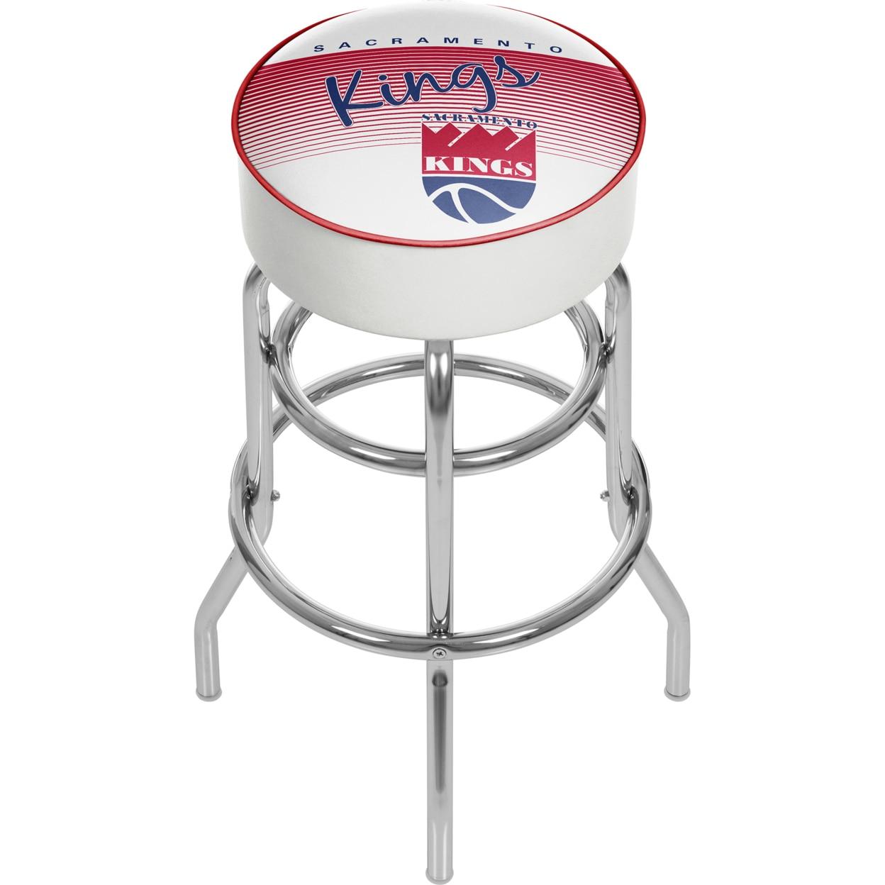 цены Sacramento Kings NBA Hardwood Classics Padded Swivel Bar Stool 30 Inches High