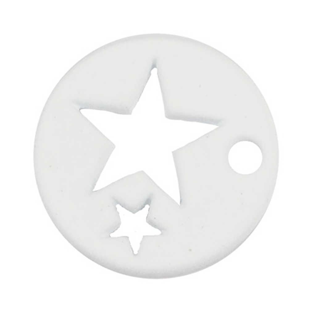 1 năm 2017 Thời Trang Trang Sức Phát Hiện 6 màu kẹo Ngôi Sao Rỗng Nhỏ Quyến Rũ Mặt Dây Chuyền Cho dây LÀM & Vòng Tay Bông Tai