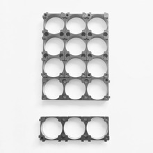 500pcs /lot plastic 21700 battery holder 3P cylindrical battery holder for 21700 lithium ion battery pack assembly