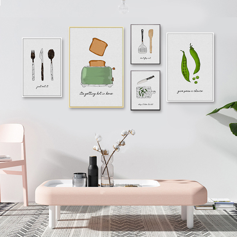 Fork Decoration Wall Art Pictures