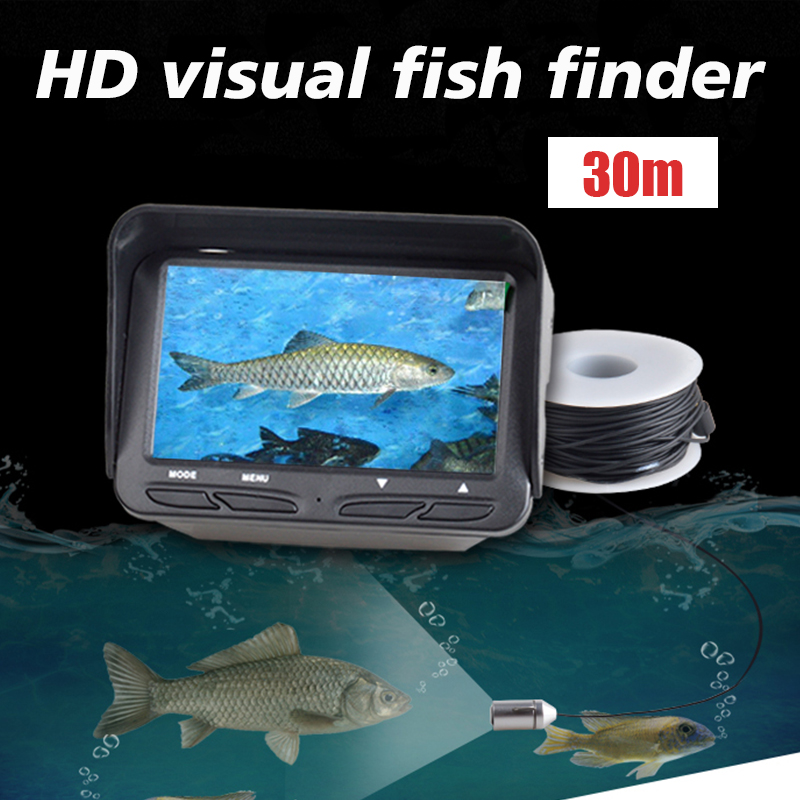 4.3 Inches Black 30M 3MP HD Camera Visual Fish Finder Underwater Ice Fishing Camera Diving 720P Fish Finder4.3 Inches Black 30M 3MP HD Camera Visual Fish Finder Underwater Ice Fishing Camera Diving 720P Fish Finder