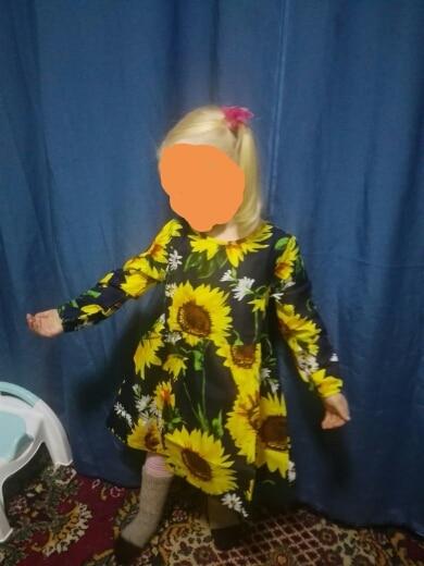 Summer Baby Kids Dresses Children Girls Long Sleeve Floral Princess Dress Spring Summer Dress Baby Girls Clothes dress for girl