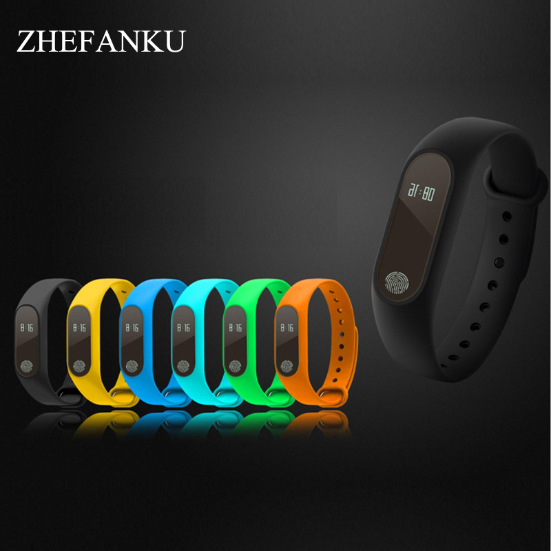 Fashion Smart Bracelet For Android IOS Touch Fitness Tracker Health Wristwatch Sleep Heart Rate Monitor Bluetooth Smart Watch