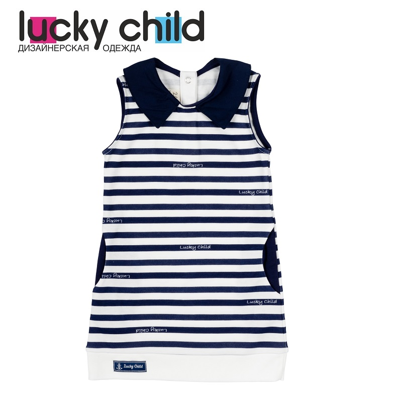 Dresses Lucky Child for girls 28-67D (18M) Dress Kids Sundress Baby clothing Children clothes dresses lucky child for girls 50 63 18m dress kids sundress baby clothing children clothes