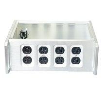 BZ312B Silver Power Box อเมริกัน PSU มาตรฐานแชสซี HIFI PSU Enclosure กรณี DIY