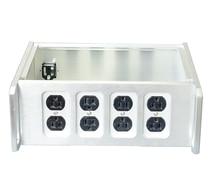 Серебряный блок питания BZ312B, американский стандартный корпус для блока питания Hi Fi, чехол «сделай сам»