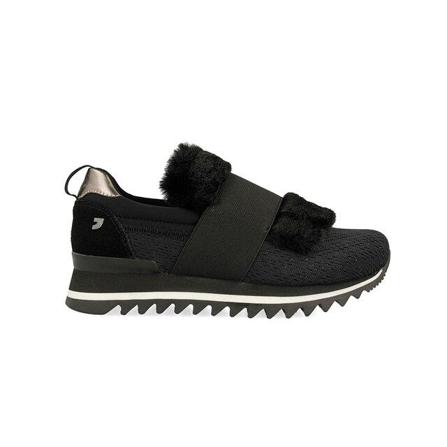 envío gratis 64d74 f40e0 € 59.95 |Zapatillas pelo negras de Gioseppo en Zapatos de mujer de Zapatos  en AliExpress.com | Alibaba Group