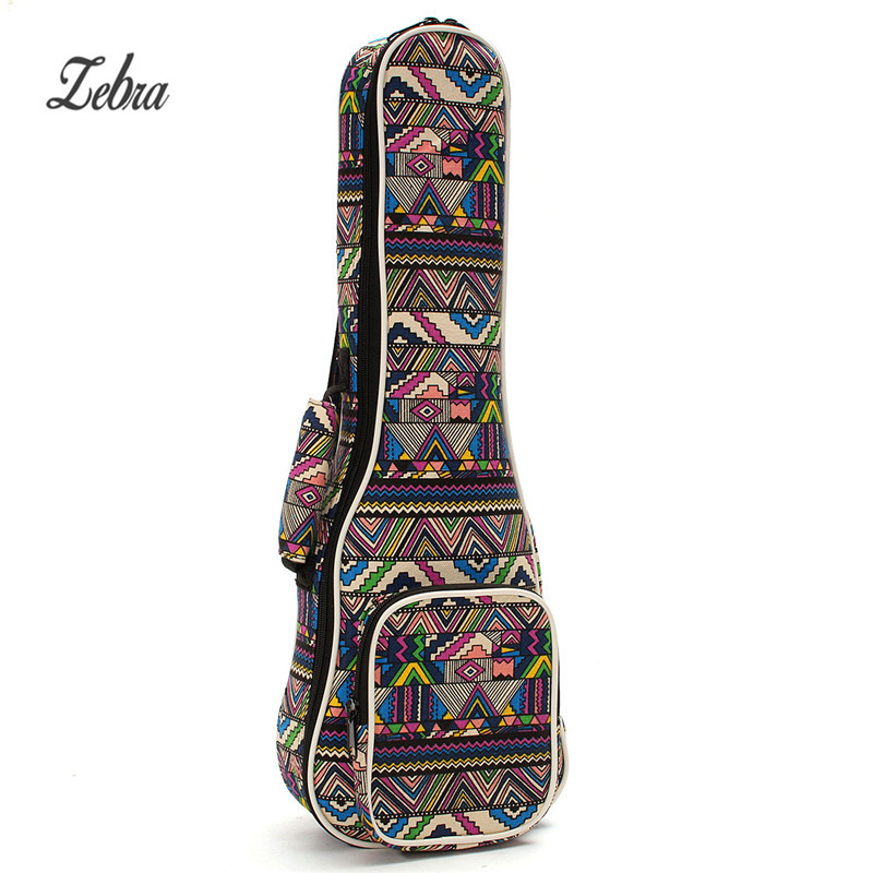 21 23 26 Ukulele Instrument Bags Ukelele Bag With Double Shoulder Strap Bag Canvas Guitar Bags