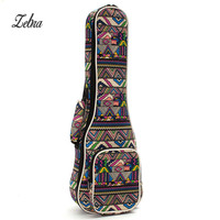 21 23 26 Ukulele Instrument Bags Ukelele Bag With Double Shoulder Strap Bag Canvas Guitar Bags