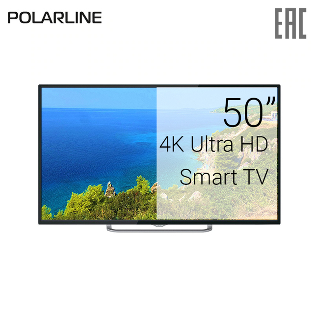 "Телевизор 50"" Polarline 50PU11TC-SM 4K SmartTV"