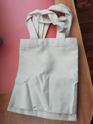 eTya New Fashion Promotions Large Casual Canvas Shopper Bags Christmas Gift Bag Foldable Retro Shopping Bag Shoulder bag Handbag photo review