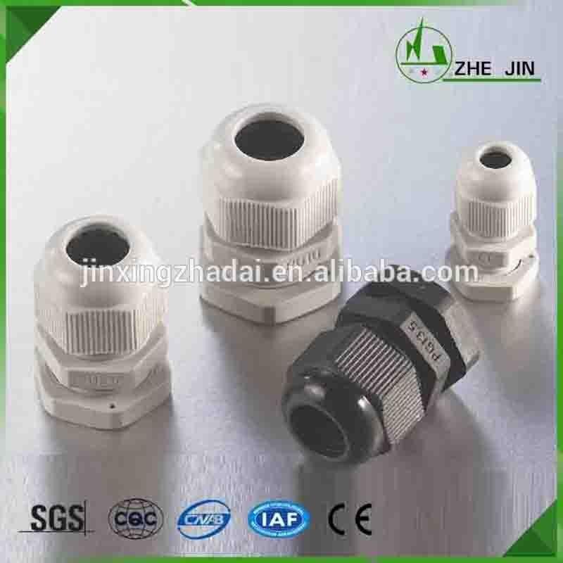 ZHEJIN (100pcs) IP68 PG9 4-8MM Plastic Waterproof Connectors Nylon Cable Glands