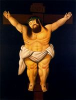 High quality Oil painting Canvas Reproductions Abu Ghraib prison 3 by the Lakeside by Fernando Botero hand painted