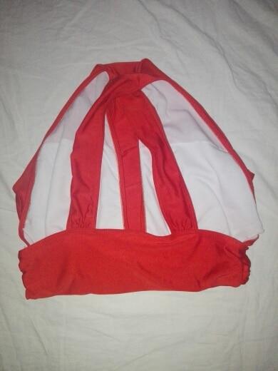 2017 черный, красный сексуальная крест женский купальник на бретелях Цельный купальник черный, красный однотонные женские купальные костюмы Пляжная одежда Плавание