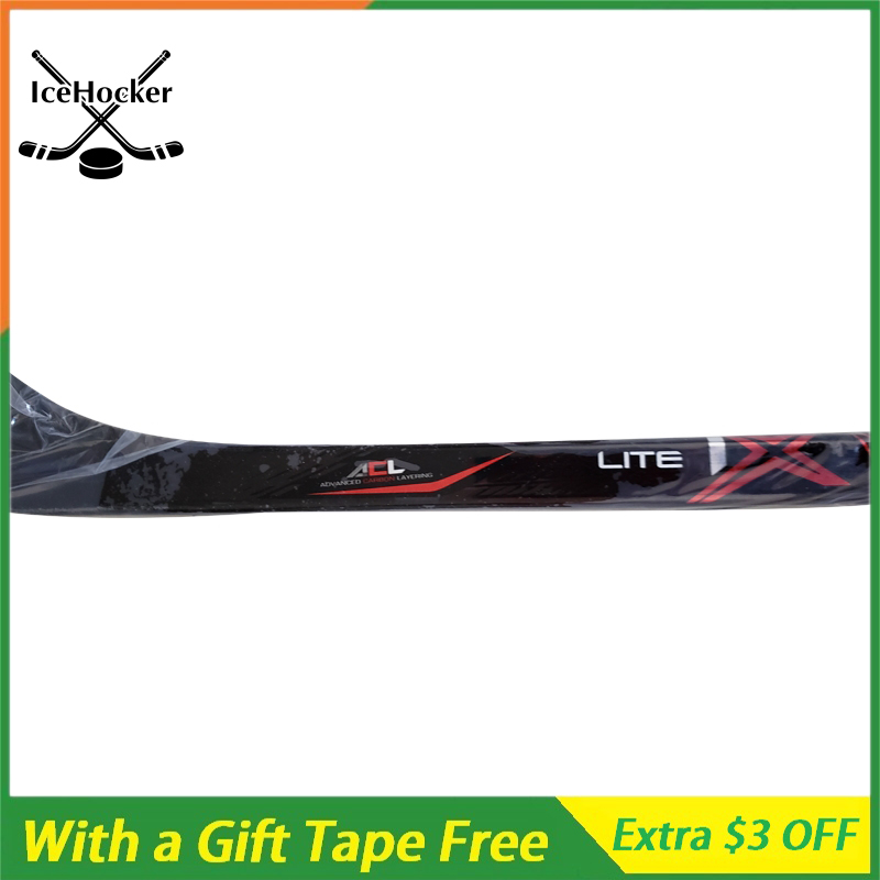 Carbon Fiber Ice Hockey Stick 1 X with a Free Tape with Grip High Quality SR