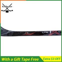 In Fibra di carbonio Bastone da Hockey Su Ghiaccio 1 X con un Nastro Libero con Presa di Alta Qualità SR/INT/JR p92 P88 P28 leggero 420g LIBERA IL TRASPORTO