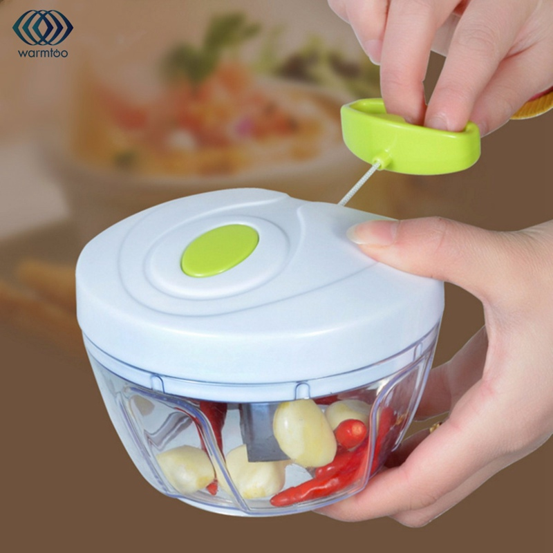 Multifunctional Manual Pull Rope Meat Grinder Rotary Cutting Device White Pull Food Chopper Household Kitchen цена