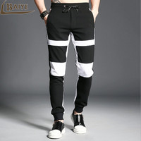 2017 Brand Spring Summer Men S Pants Casual Sweatpants Men Jogger Fashion Youth Pants Trousers Stitching