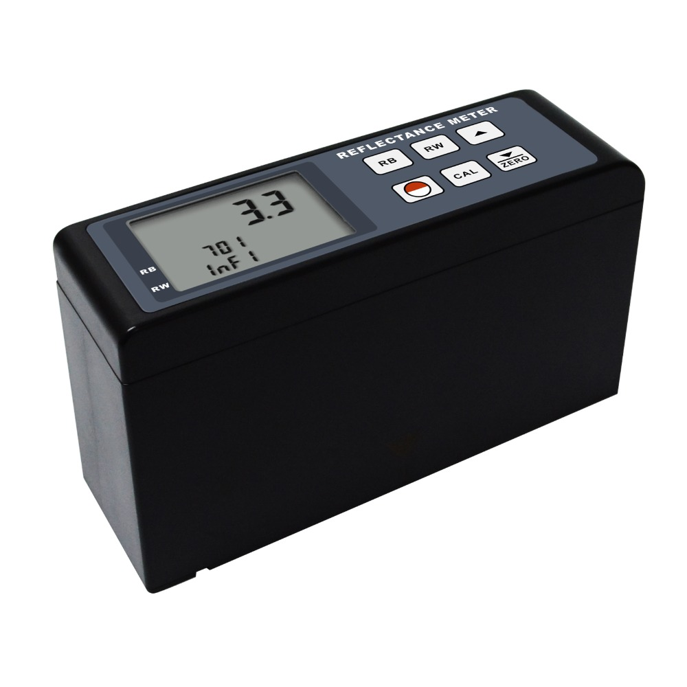 Digital Reflectance Meter 0~100 Range Portable Cryptometer Light Reflectivity Transparency Tester for Specular Diffuse Surfaces