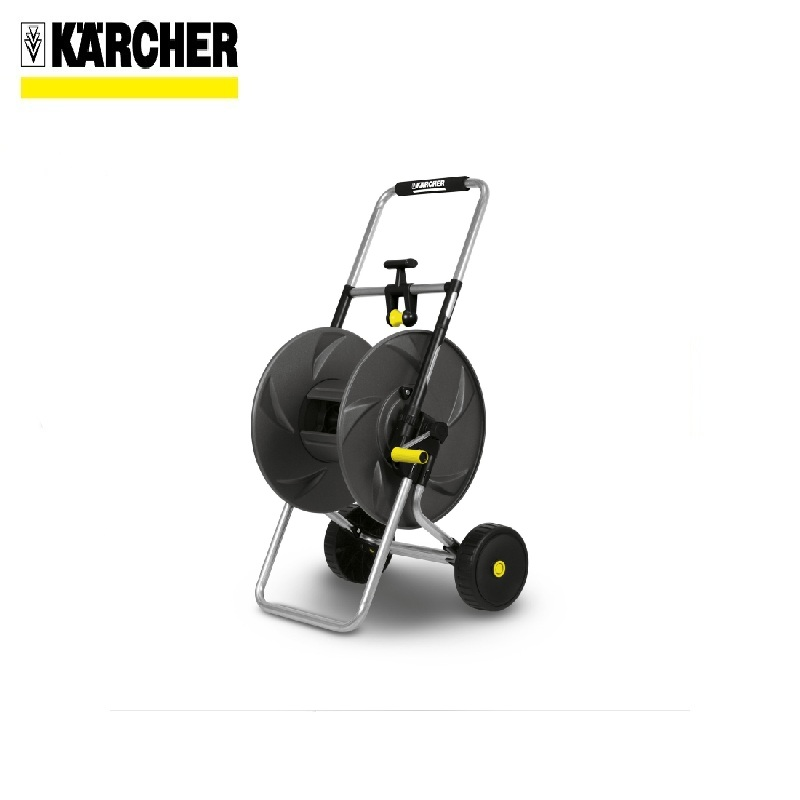 Metal trolley for hoses HT80 Fixing the ends of the hose For watering Coils Garden hose reel fishing reel coils carretilha de pesca direita sw5000 12 bb spinning reel aluminum spool metal handle left fishing reel windlass