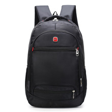 купить Male Backpacks Shoulders Notebook Travel Laptop Bags Student A Bag Oxford Backpack Leisure Bagpack Mochila School Back Pack дешево