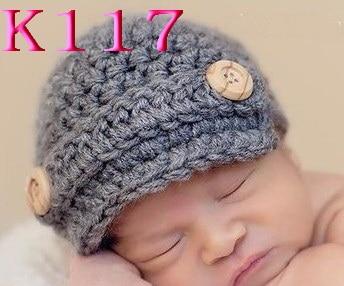 Baby Boy Newsboy Hat, Crochet Newborn Hat, Baby Boy Beanie, Baby Shower Gift