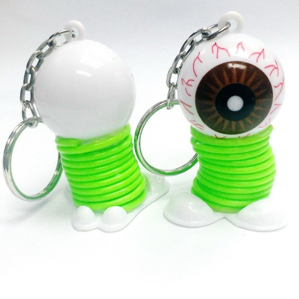 eye ball spring keychain - 17.5g