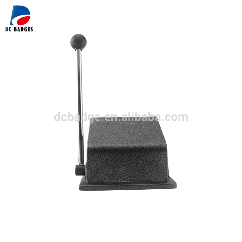 New Heavy Duty Manual Round 58 Mm Button Paper Cutter, Cutting Size Round Die 70mm