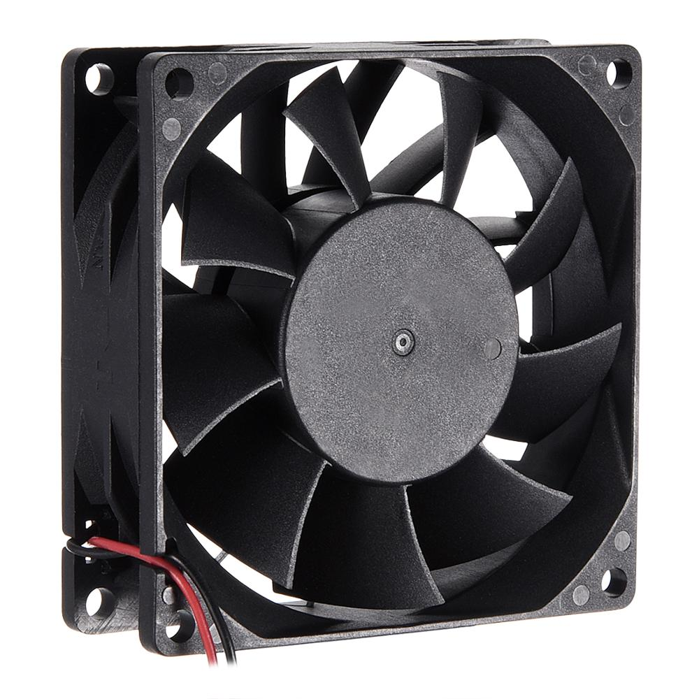 Uxcell 1pcs SNOWFAN Authorized Brushless DC Cooling <font><b>Fan</b></font> 12V 50x50x10/70x70x15/<font><b>80x80x15</b></font>/80x80x25mm 3700/3800/4000/4800/6600R.P.M. image