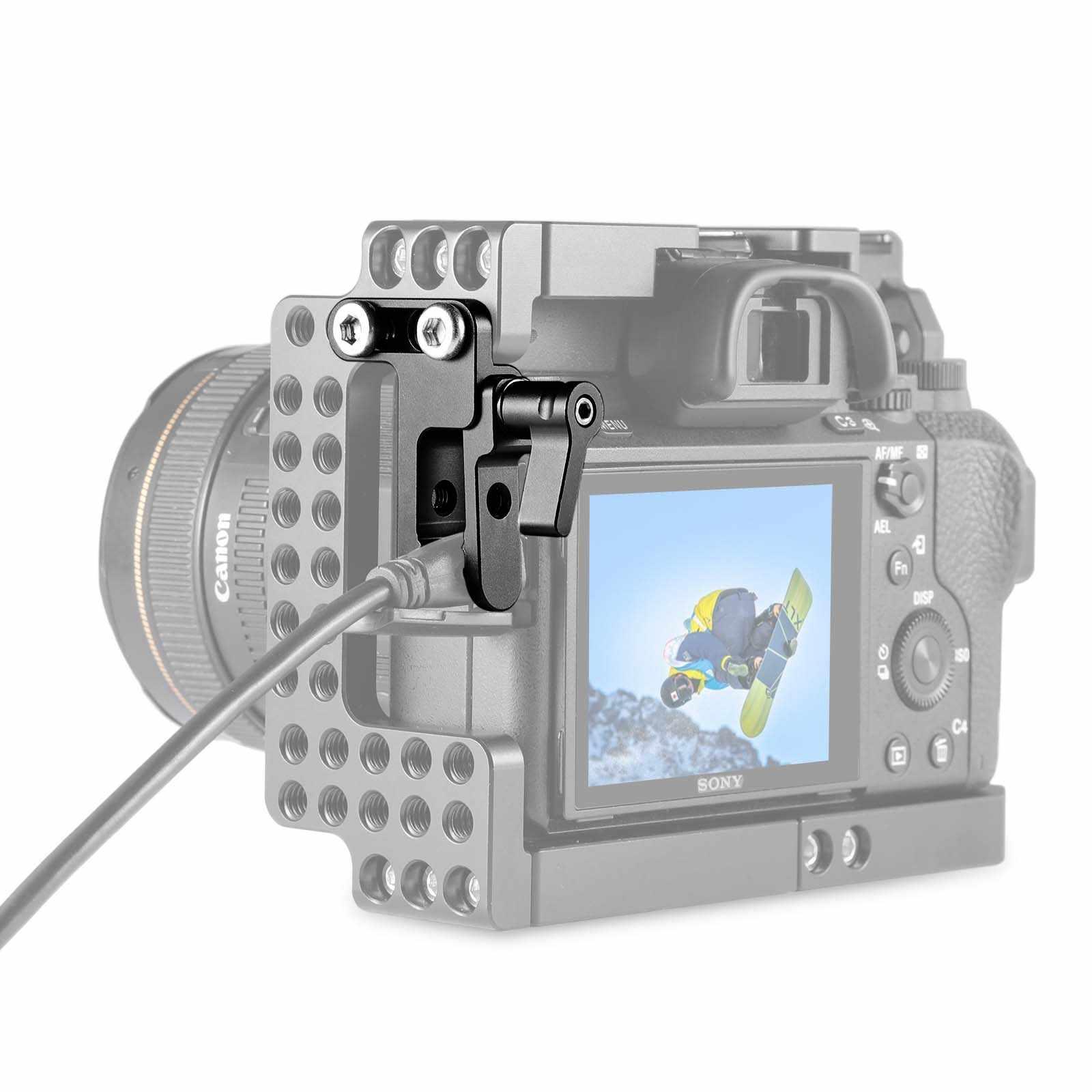 Smallrig Camera Hdmi Klem Lock Ontwikkeld Voor Sony A7ii A7III A7RIII Smallrig Kooi 1673,1675 En 1660 2087 - 1679