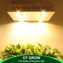 Затемнения CREE CXB3590 400 Вт удара светодиодный светать полный спектр 48000LM = HPS 600 Вт растет лампы комнатное растение рост освещения Панель