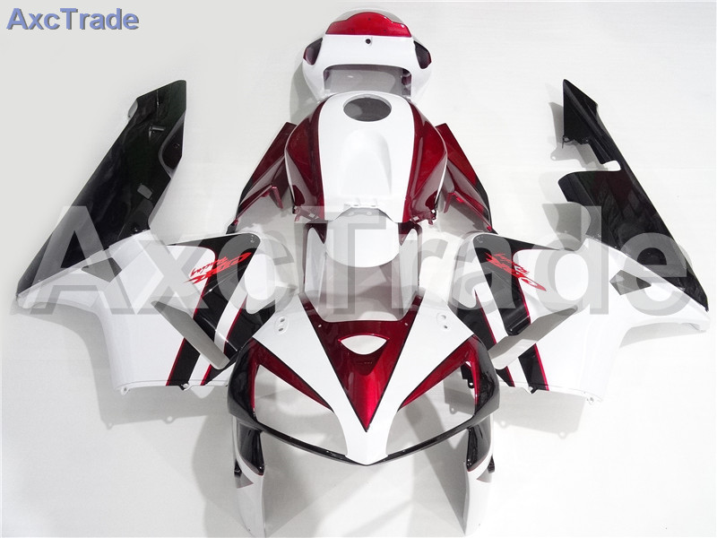 Motorcycle Fairings Kits For Honda CBR600RR CBR600 CBR 600 2005 2006 05 06 F5 ABS Plastic Injection Fairing Kit Bodywork A203 abs injection fairings kit for honda 600 rr f5 fairing set 07 08 cbr600rr cbr 600rr 2007 2008 castrol motorcycle bodywork part