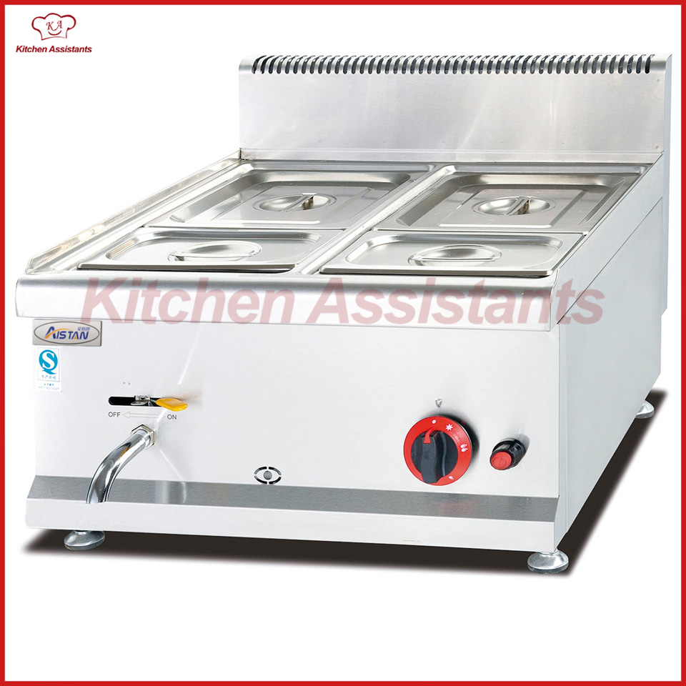 GH584 counter top gas bain marie of catering equipment