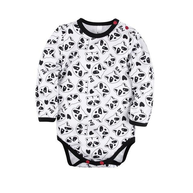 Боди с длинным рукавом 'Panda baby' Bossa Nova 580B-371