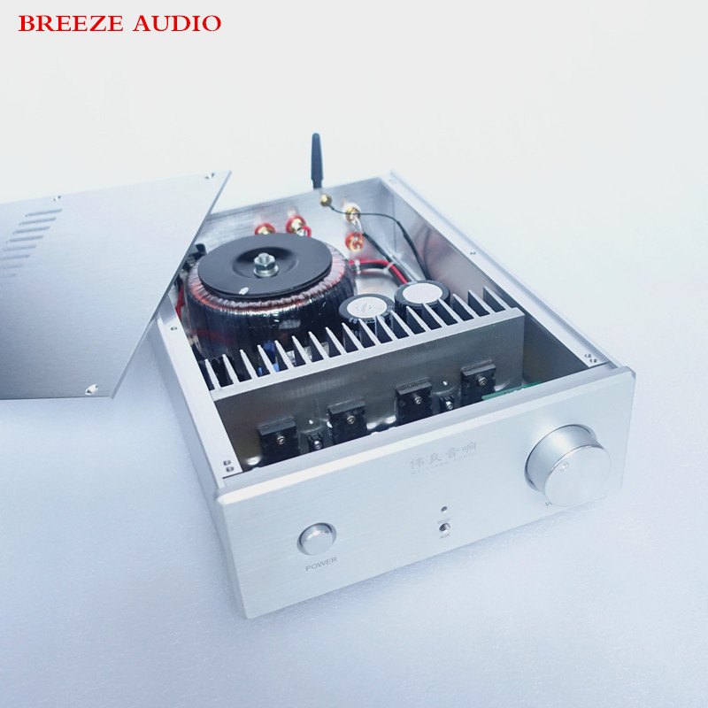купить Breeze Audio&WeiLiang Audio UPC1342V 150w*2 dual channel HiFi power amplifier Bluetooth 4.0 недорого