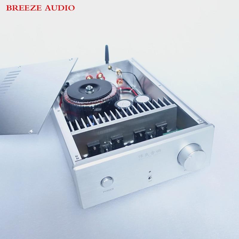 Breeze Audio&WeiLiang Audio UPC1342V 150w*2 dual channel HiFi power amplifier Bluetooth 4.0 weiliang audio