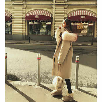 MISHOW 90% Duck Down coats for women 2019 winter warm clothes long sleeves parka down jacket woman hooded MX18D8844