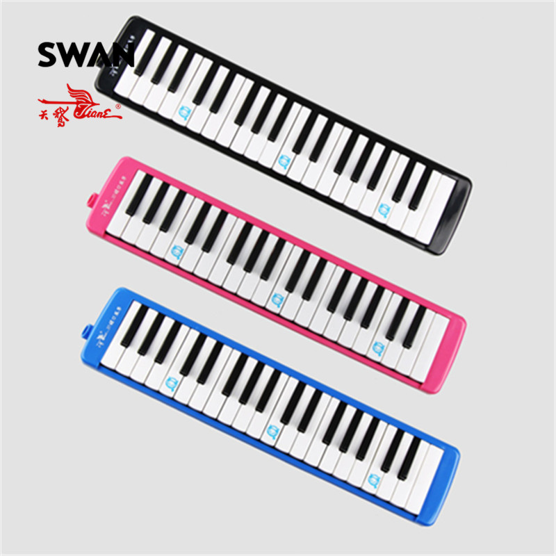 Swan Melodica 37 Keys Teaching Performance Mouth Organ Packed In Plastic Bag Keyboard Woodwind Professional Musical Instruments