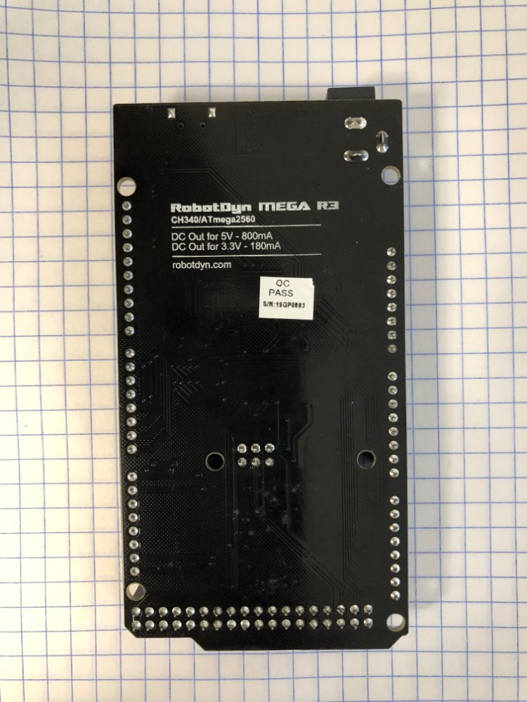 Mega 2560 R3 CH340G/ATmega2560-16AU, MicroUSB. Compatible for Arduino Mega 2560. With Bootloader.