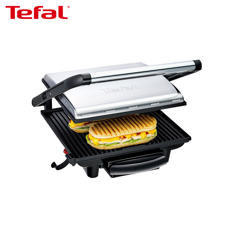 Electric Grill TEFAL GC241D38 Electric Griddles press grill dmwd electric waffle maker muffin cake dorayaki breakfast baking machine household fried eggs sandwich toaster crepe grill eu us