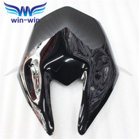 2015 New Hot Sale Motorcycle Accessories Windshield WindScreen Black Color Fit For 2013 2014 Kawasaki Z800