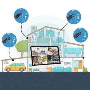 Image 4 - ANRAN 3MP 4CH система камер домашней безопасности Водонепроницаемый открытый Ночное видение IP Wi Fi камера с 15 дюймовым монитором 1 ТБ HDD NVR Наборы