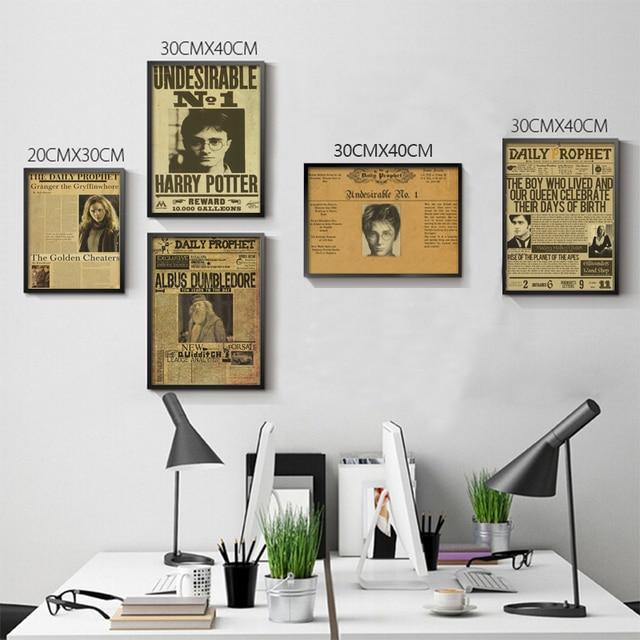 d coration harry potter imprimer. Black Bedroom Furniture Sets. Home Design Ideas