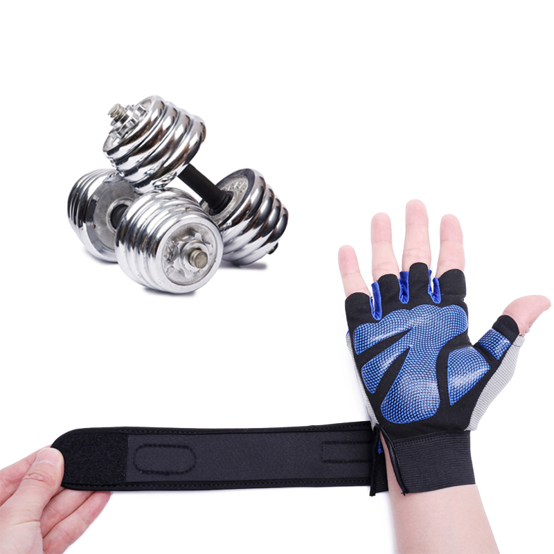 Рукавички спортивні з високоякісним - Фітнес та бодібілдинг - фото 4